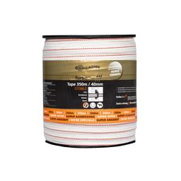 350 m/40 mm Gallagher Weidezaunband TurboStar (weiß)
