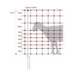 Horizont Schafnetz/Schafzaun Horinetz 120 cm/50 m (Doppelspitze)