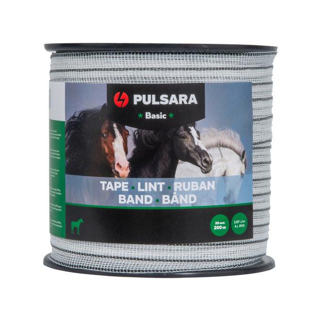 Pulsara 200 m/20 mm Pulsara Breitband Basic (weiß)