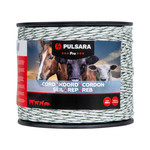 Pulsara 500 m/6 mm Pulsara Weidezaunseil Pro (weiß)