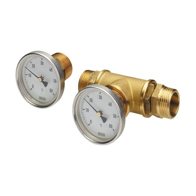 Lister Lister Thermometer-Set für Ringleitungen