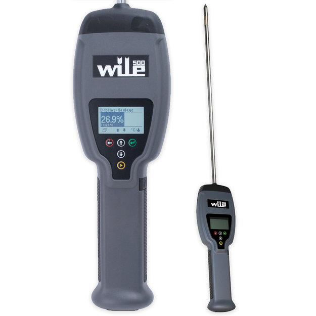 Wile Digitaler Feuchtigkeits- und Temperaturtester WILE 500