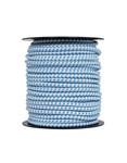 Pulsara 50 m/7,8 mm Pulsara Elastisches Seil/Cord (Bungee) weiß/blau