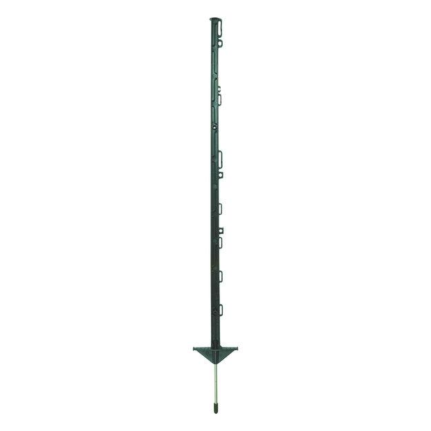 Pulsara 10x Pulsara Kunststoffpfahl PRO - 1,05 m grün