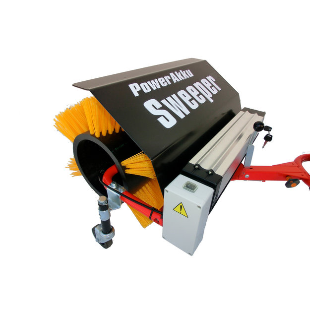 PowerPac PowerPac Kehrbesen mit integriertem Nabenmotor 500 W