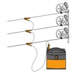 Gallagher  Gallagher Zaunverbindungskabel (Multi-Haspelverbinder)