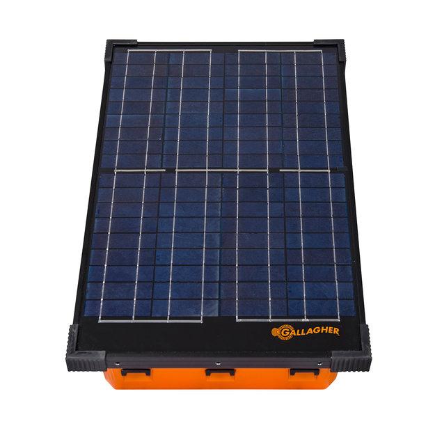 Gallagher  Gallagher Weidezaungerät/Solargerät S200 mit Akkus