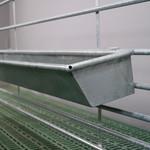 Köhler Holz- und Metallverarbeitung Köhler Futtertrog zum Aufhängen 200 cm