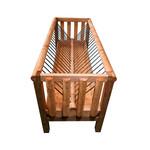 Köhler Holz- und Metallverarbeitung Köhler Doppelraufe/Futterraufe aus Holz (2 m)
