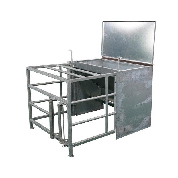 Köhler Holz- und Metallverarbeitung Lämmer-Futterautomat mit Vorraum und Schlupf