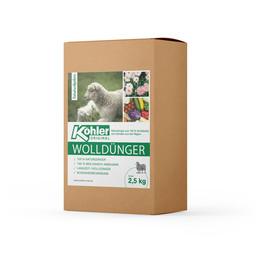 Köhler´s Volldünger/Schafwollpellets - 2,5 kg