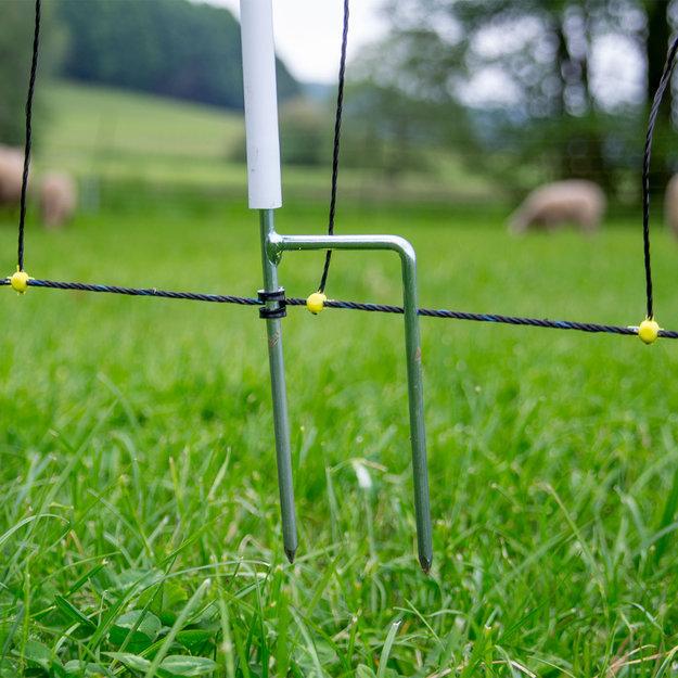 Horizont Wolfsabwehrnetz Horinetz Super - 120 cm/50 m (Doppelspitze)