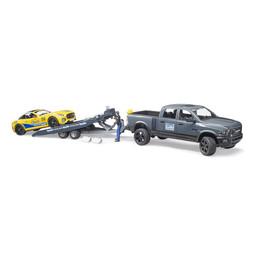 Bruder RAM 2500 Power Wagon und Roadster Bruder Racing Team 1:16