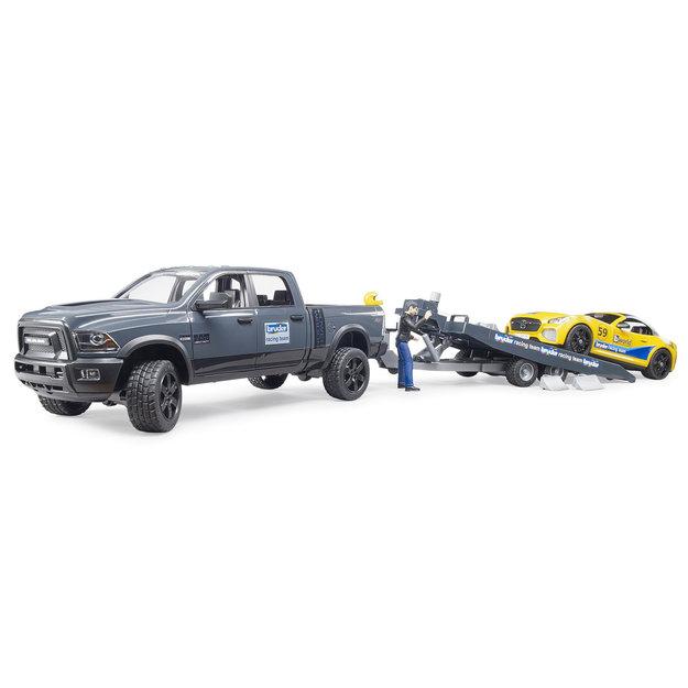 Bruder Bruder RAM 2500 Power Wagon und Roadster Bruder Racing Team 1:16