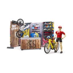 Bruder Fahrrad Shop 1:16