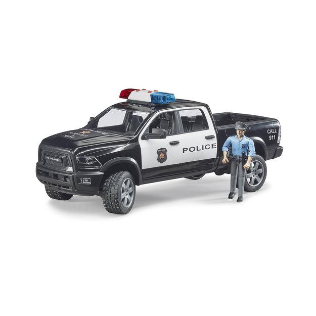 Bruder Bruder RAM 2500 Polizei Pickup mit Polizist 1:16