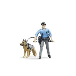 Bruder Polizist mit Hund 1:16
