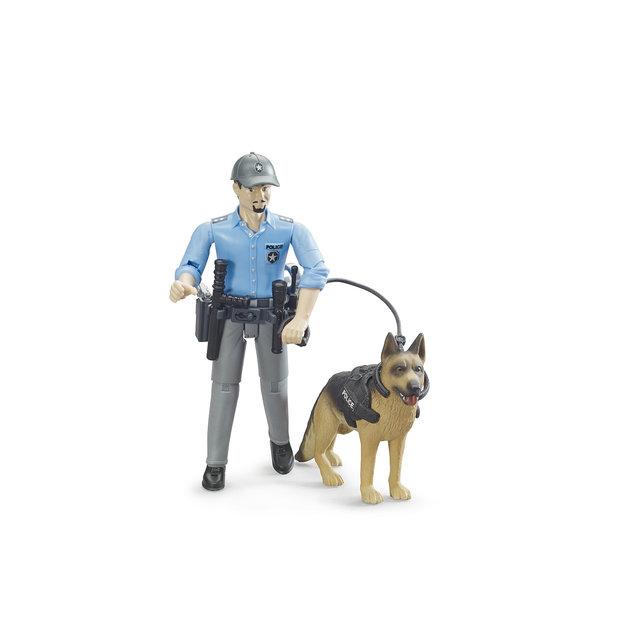 Bruder Bruder Polizist mit Hund 1:16