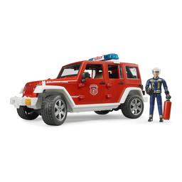 Bruder Feuerwehr Einsatzfahrzeug mit Feuerwehrmann 1:16