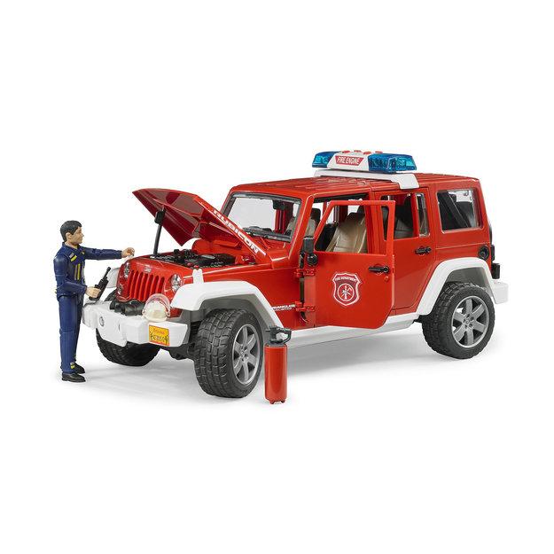 Bruder Bruder Feuerwehr Einsatzfahrzeug mit Feuerwehrmann 1:16