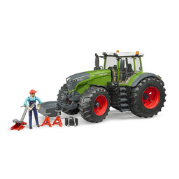 Bruder Traktor Fendt 1050 Vario 1:16 + Mechaniker & Zubehör
