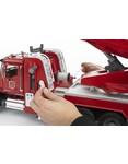 Bruder Bruder MACK Granite Feuerwehrleiterwagen mit Wasserpumpe