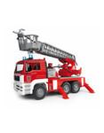 Bruder Bruder MAN LKW Feuerwehr mit Drehleiter und Wasserpumpe 1:16