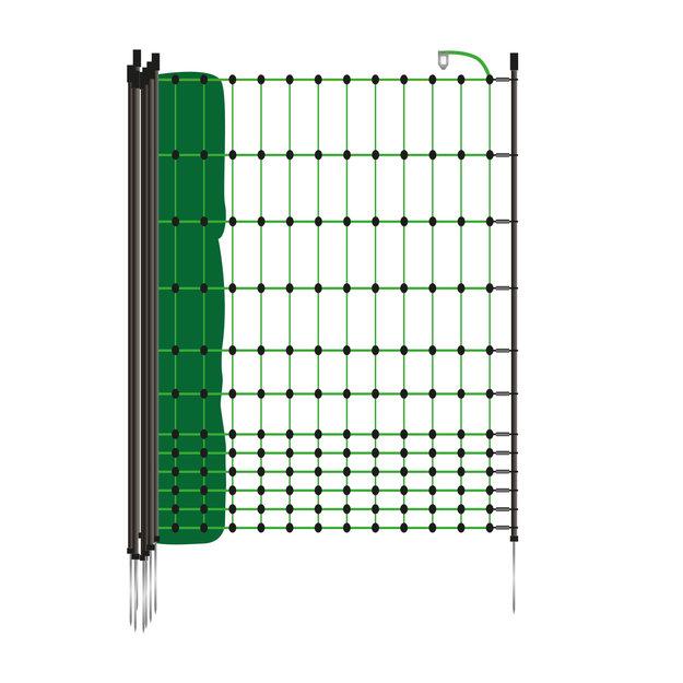 Gallagher  Gallagher Hühnerzaun/Geflügelnetz 50 m / 112 cm mit Einzelspitze