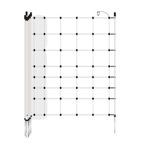Gallagher  Gallagher Turbonetz/Schafzaun - 50 m / 90 cm mit Einzelspitze