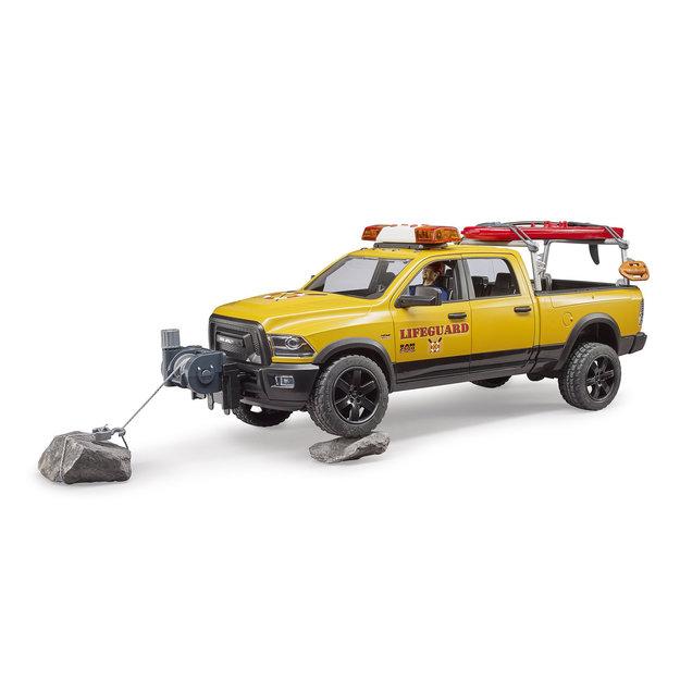 Bruder Bruder RAM 2500 Power Wagon Life Guard 1:16