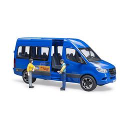 Bruder MB Sprinter Transfer mit Fahrer und Fahrgast 1:16