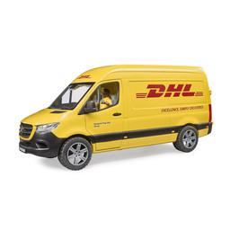 Bruder MB Sprinter DHL mit Fahrer 1:16