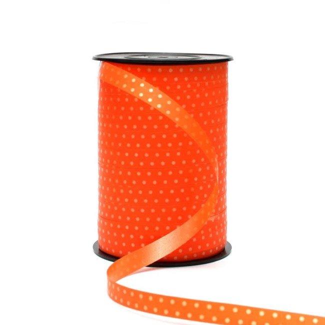 Krullint Bolletje Oranje - 10mm x 225m