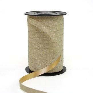Krullint Glitter Goud - 10mm x 100m