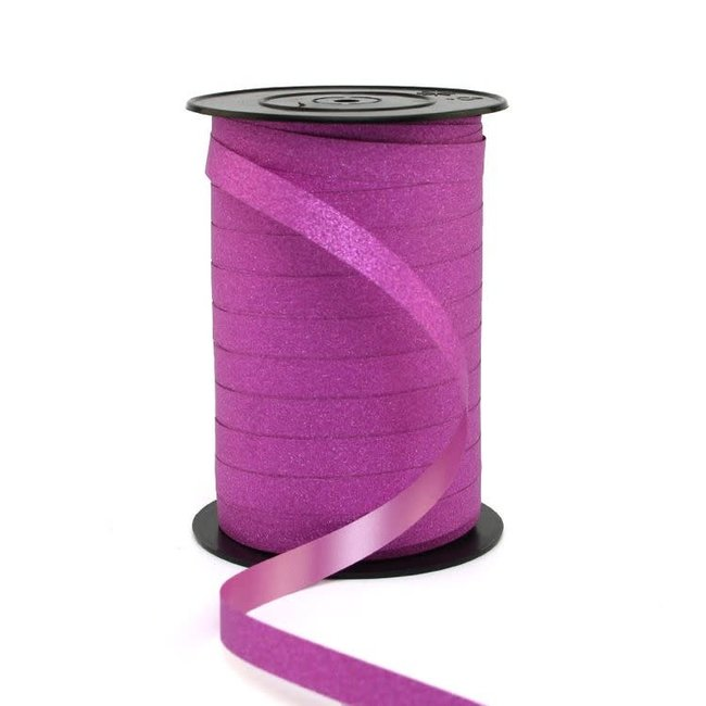 Krullint Glitter Roze - 10mm x 100m