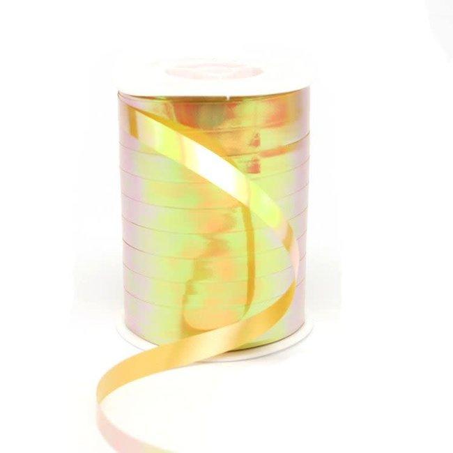 Krullint Fluor Goud - 10mm x 250m