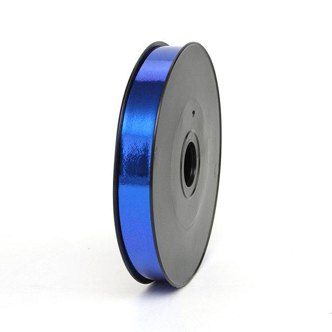 Krullint Miroir Cobaltblauw - 19mm x 100m