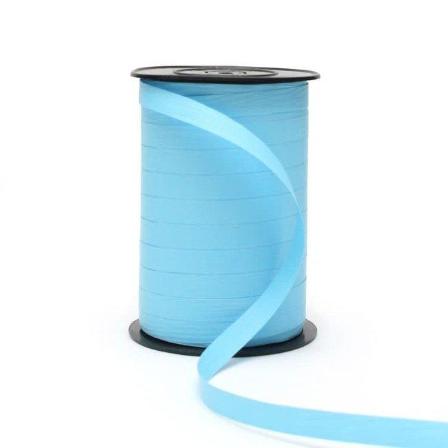 Krullint Paperlook Lichtblauw - 10mm x 250m