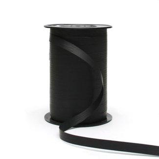 Krullint Paperlook Zwart - 10mm x 250m