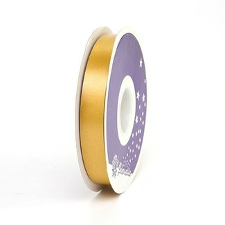 Krullint Satin Goud - 19mm x 100m