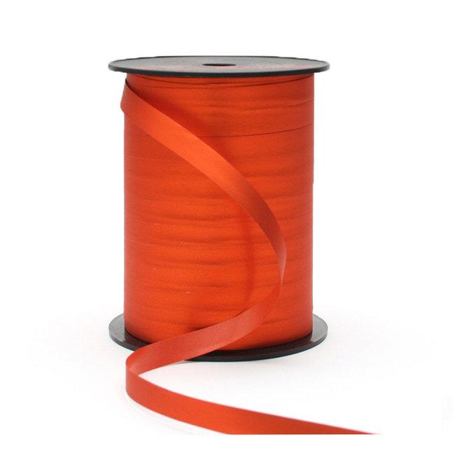Krullint Silky Oranje - 10mm x 250m