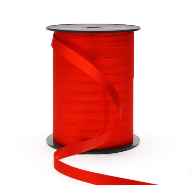 Krullint Silky Rood - 10mm x 250m