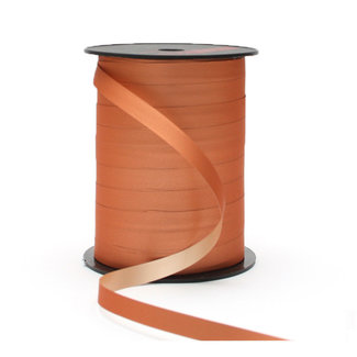 Krullint Silky Lichtbruin - 10mm x 250m