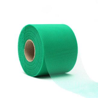 Tule Uni Groen - 8cm x 50m