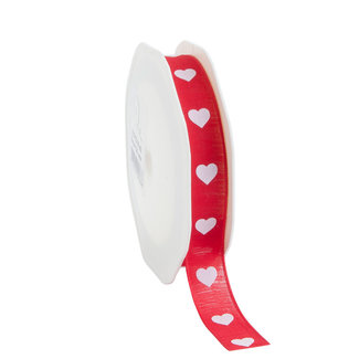 Natural Heart Rood - 16mm x 15m
