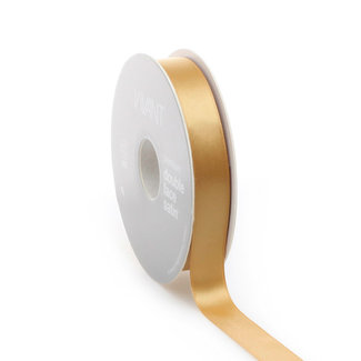 Satijnlint Bel Satin Goud - 15mm x 100m