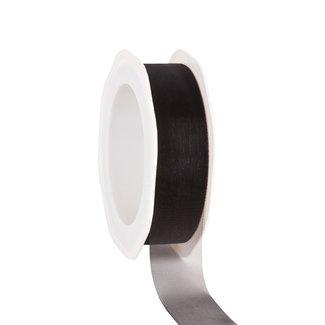Voile Zwart - 25mm x 25m