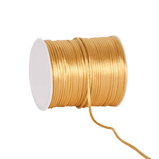 Silk Cording Goud - 2mm x 100m