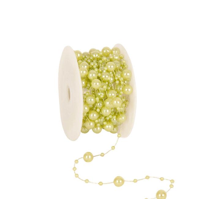 Round Beads Lichtgroen - 8mm x 10m