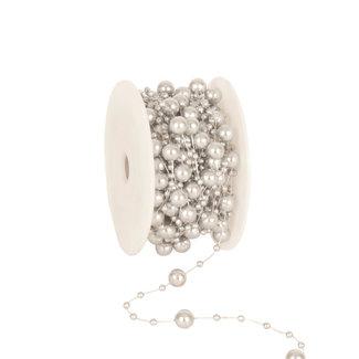 Round Beads Zilver - 8mm x 10m